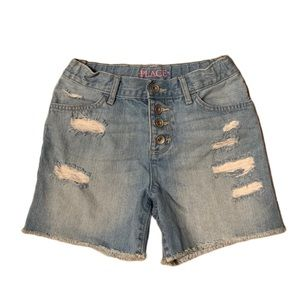 The Children's Place Distressed Jean Shorts - 8